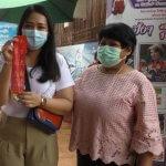 สาวเดินทางจากชัยนาท แก้บนไอ้ส้มฉุน หลังถูกรางวัลที่ 1 รับ 12 ล้าน พร้อมเก็งเลขหางประทัด
